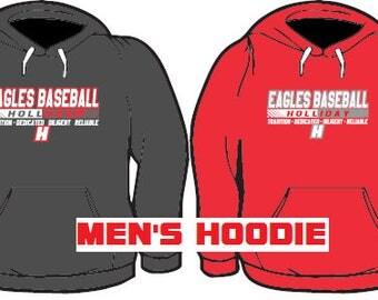 HOLLIDAY EAGLES BASEBALL: Men's Hoodie