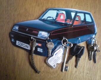 key renault 5 / r5 /accroche keys