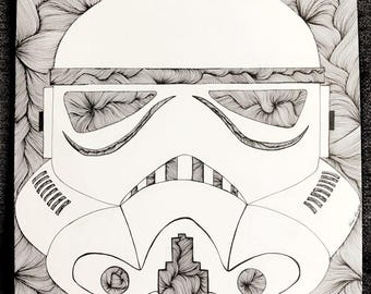 Star Wars Design - Storm Trooper