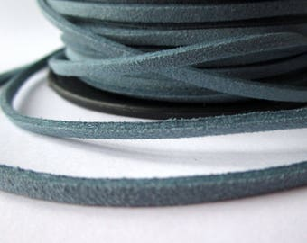 5 m cord - blue - 3 mm