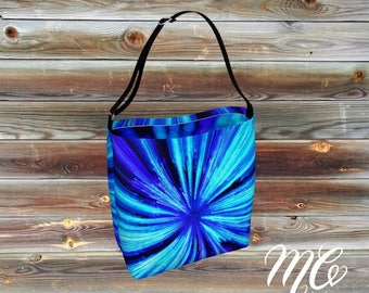 Blue Zoom Day Tote