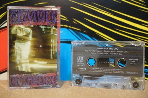 Temple Of The Dog by Temple Of The Dog Vintage Cassette Tape
