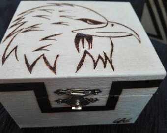 Pyrographed boxes boxes