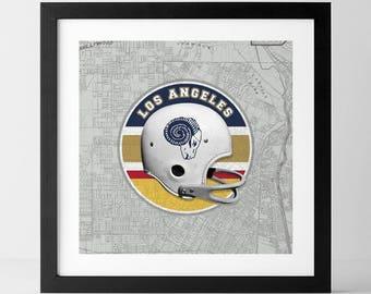 Vintage NFL: LA Rams-inspired