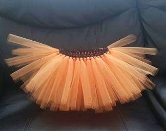 Toddler Thanksgiving Tutu|Toddler Orange Tutu|Toddler Fall Tutu|Girl's Thanksgiving Tutu|Baby Thanksgiving Tutu|Fall Tutu|Orange Tutu