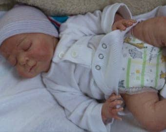 Reborn baby (Issac) Girl or Boy| OOAK Hand Painted Doll| Made to Order