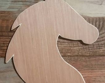 Horses Head, Unfinished Horse Head, Wooden Horse, Unfinished Wood Horse, Wooden Crafts, DIY Crafts, Unfinished Crafts, Horse Silhouette