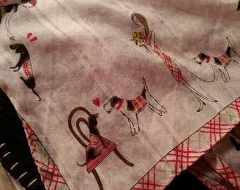For the love of Dogs!  Burberry neck scarf/bandana