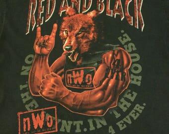 Vintage nWo Wolfpac Tee Large