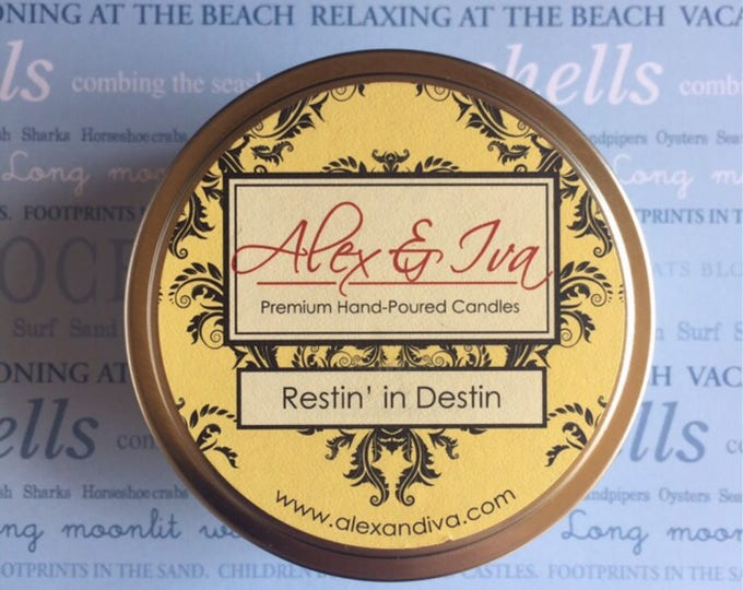 Restin' In Destin - 8 oz. tin