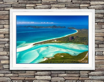 Whitehaven, limited edition, archive quality, aerial photography, beach, photographic print, by Michelle Andrews