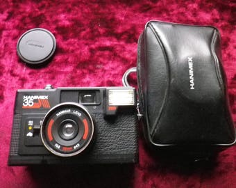 vintage HANIMEX 35SE  camera .Tested - working / nearly mint condition