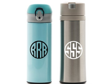 Monogram Custom Waterbottle Sticker