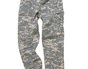 Vintage digital Camo military pants