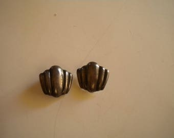 Los Ballesteros Sterling Silver Clip-on Earrings