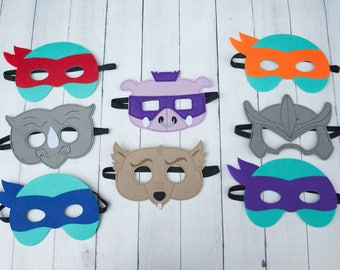 Ninja Turtle Masks Party Favor For Birthday Party