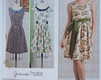 Simplicity 8294 Summer Dress Pattern. Vintage inspired Gertrude Made. 6, 8, 10, 12, 14