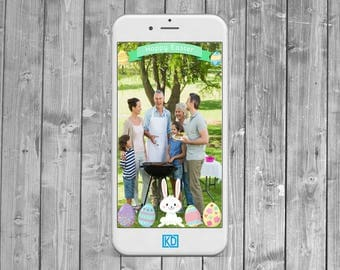 Happy Easter  Snapchat Geofilter