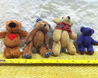 Vintage Dolls Bears, Teddy Teddys Accessoires Miniature Dollhouse Decoration