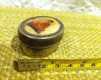 Vintage Tin Box Accessoires, Dollhouse Decoration Miniatur