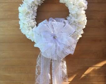 Wedding Wreath, Wedding Shower, Wedding Gift, Wedding Decor