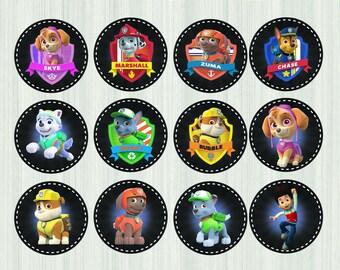 paw patrol cupcake toppers, paw patrol, paw patrol party, paw patrol birthday, cupcake toppers, paw patrol toppers, paw patrol cupcake, Paw