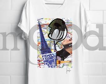 """T-shirt with """"Paris"""""""