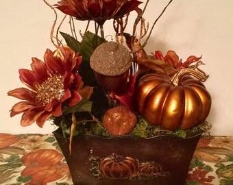 Fall Sunflower Arrangment