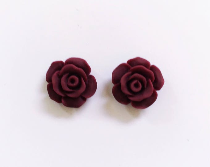 The 'Pippa' Flower Earring Studs