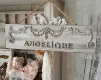 Nameplate for decoration in and around house / Company