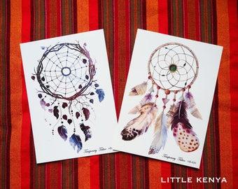 Temporary Tattoos - Body tattoos - Tribal Tattoos - Dreamcatcher - Body Jewellery Jewelry - African - Festival tattoos