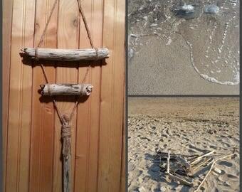Driftwood wall art-Driftwood art-Driftwood pieces-Decorative Driftwood branches-Driftwood wall hanging-Driftwood Beach Decor-Bois flotte