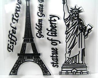 Eiffel Tower Statue Etsy