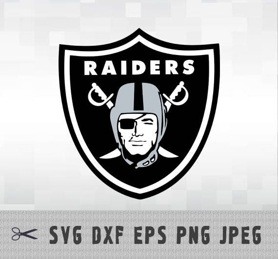 Oakland Raiders Layered Svg Dxf Eps Logo Vector File