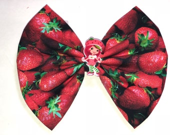 Freshly picked Strawberry Bow.