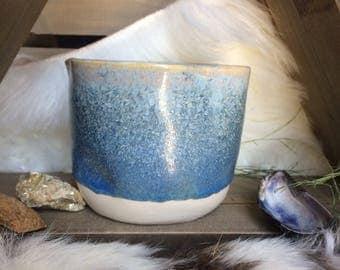 Handmade Crystal Glaze Porcelain Ceramic Pottery Tea Cup