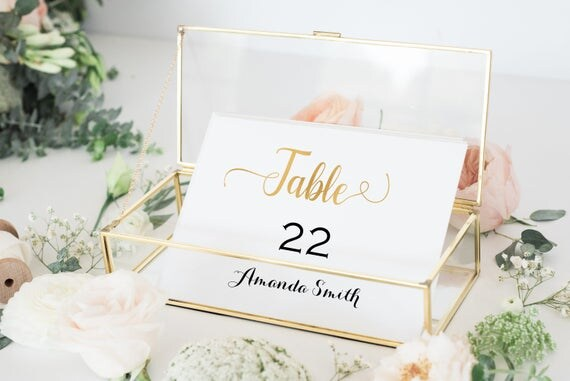 Place Cards Template for wedding