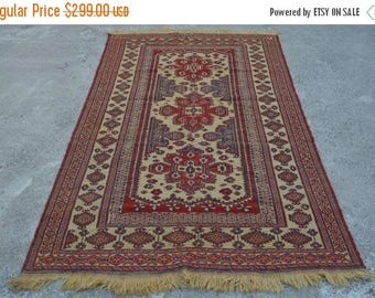 35% OFF Final sale Beautiful hand woven sumak kilim/ tribal kilim