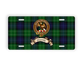 Scottish Clan Abercromby Crest Novelty License Plate