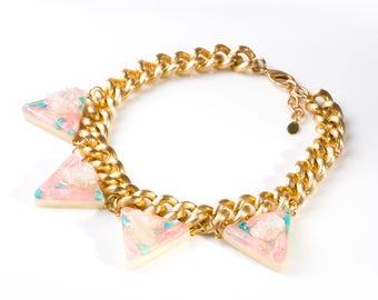 Triangle Goddess Necklace