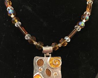 Topaz necklace