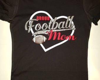 Football Mama T-shirt