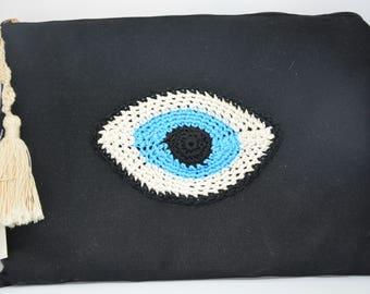 Eye jean Pocket