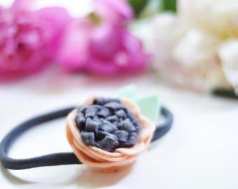 Woolfelt flower headband
