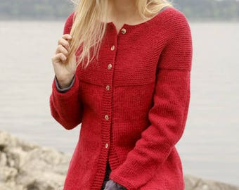 Color selection Knit Jacket