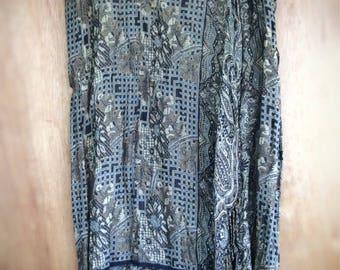 Womens vintage hippie boho skirt