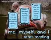 Me, Myself & I 3-card min...