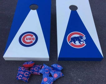 Chicago Cubs Corn Hole Bags Game Cornhole With Bags