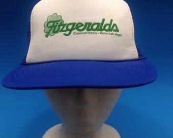 Vintage Fitzgeralds Hotel and Casino SnapBack Trucker hat Adjustable