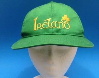 Vintage Ireland SnapBack Hat Adjustable 1990s